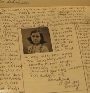 Anne Frank Image from FHAO
