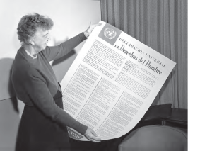 Eleanor Roosevelt and UDHR