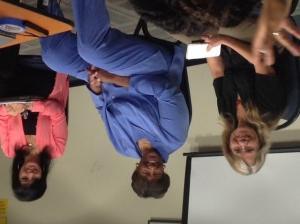 Lyn Goldfarb, Lorraine Bradley, and Alison Sotomayor