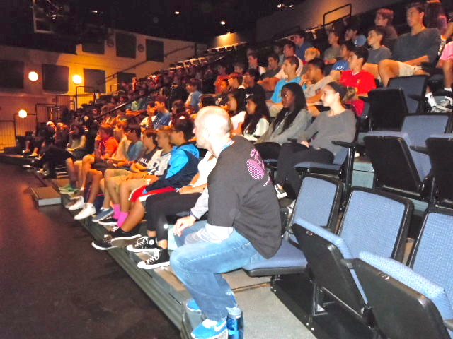 intro in theater