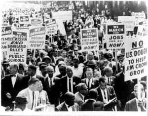 Civil Rights March, Library of Congress