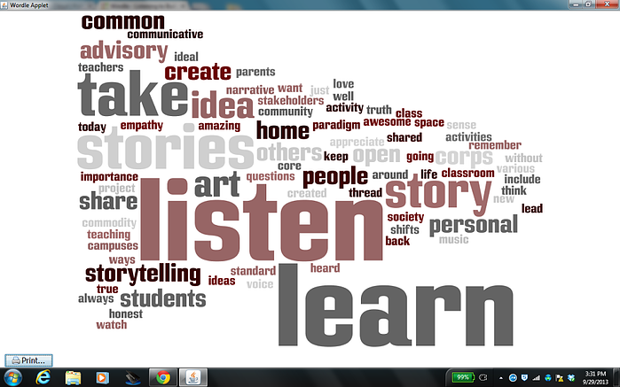 wordle from hs summit