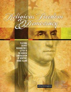 Washington letter cover