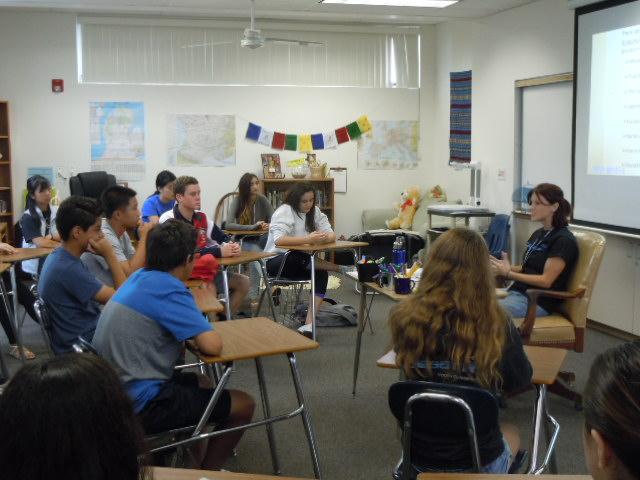 discussion Ms. Capozolli